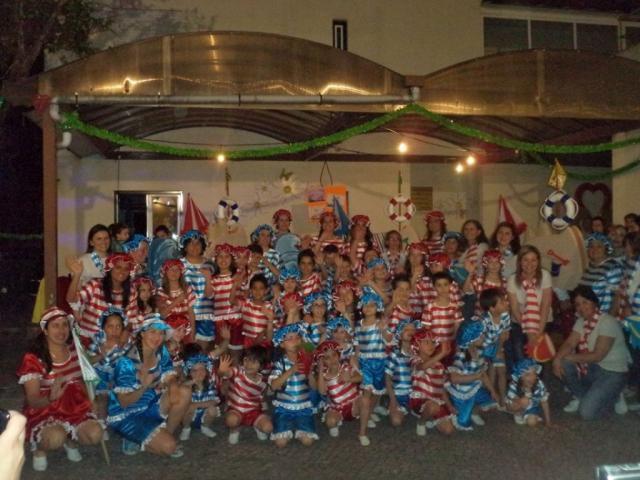 Foto de grupo para mais tarde recordar