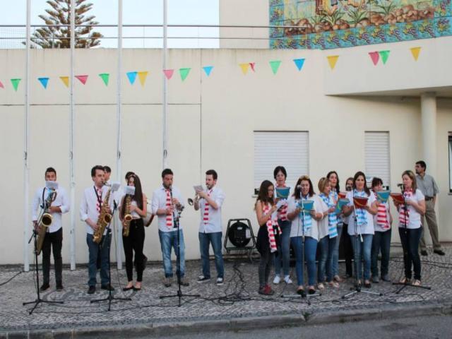 Músicos e coro
